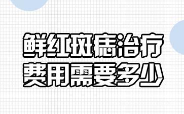 上海治胎记最好医院:鲜红斑痣的治疗费用需要多少